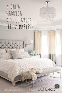 ¡A quien madruga Dios le ayuda! Feliz martes! Imagen: http://vanillaextract.me/