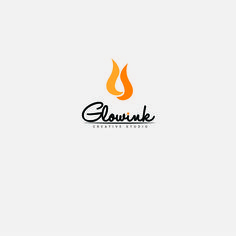 Glowink creative studio | logo gram #graphicdesign #logoinspiration