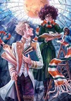 Literary Characters, Cute Characters, Film Books, Book Tv, Dramione Fan Art, Fanart, Geek Girls, Book Fandoms, Book Lovers