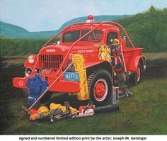 FAITHFUL SERVICE is a Dodge Power Wagon utilized by the Forest Fire Service Fire Dept, Fire Department, Firefighter Images, Brush Truck, Dodge Power Wagon, Forest Service, Fire Apparatus, Emergency Vehicles, Big Trucks