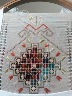 Drawn Thread, Thread Work, Hardanger Embroidery, Ribbon Embroidery, Needle Lace, Bargello, Needlepoint, Needlework, Cross Stitch