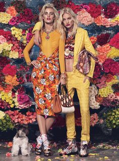 Bloom Town: Photographed by Sharif Hamza, styled by Giovanna Battaglia; W Magazine March 2012.