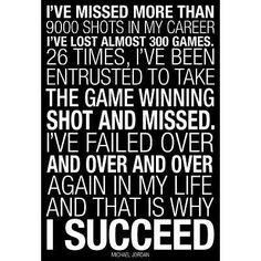 Amazon.com - (13x19) Michael Jordan Why I Succeed Quote Motivational Poster - Prints