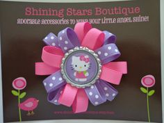 Hair Bows  Baby Girl Hair Accessories  by shiningstarsboutique, $6.99