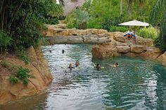 Discovery Cove - a great place for some relaxation during your theme park vacation! #DiscoveryCove #Orlando