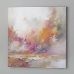 Found it at Wayfair.ca - Colour Burst Painting Print on Wrapped Canvas