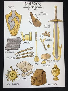 D&D Paladin& Pack Print // DnD Gift Class Fantasy Items // Cleric Knight. - dnd - D&D Paladin& Pack Print // DnD Gift Class Fantasy Items // Cleric Knight Holy Heroism Prie - Dungeons And Dragons Characters, D&d Dungeons And Dragons, Dnd Characters, Fantasy Characters, Dnd Dragons, Dnd Character Sheet, Fantasy Character Design, Character Design Inspiration, Character Concept