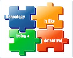 Why Do You Love Genealogy? Genealogy is like being a detective!