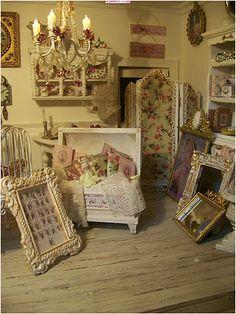 La vie en rose : miniature room