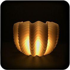 Волна. Wooll candle U N I Q U E.....super....MF