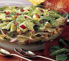 Luxury Recipe: Festive tossed salad