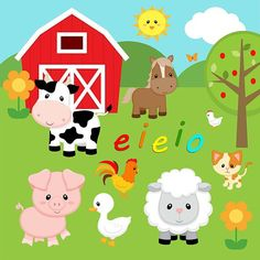 eieio Farm Scene – Made to Order | Cloth Culture Designs