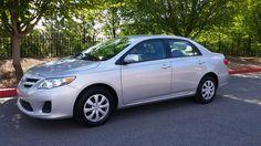2011 Toyota Corolla LE, 27,000 miles, Off-lease unit...