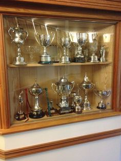 Club House Trophy Cabinet