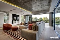 Living Room, Luxurious Interior, Pearl Valley Golf Estate, South Africa