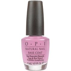 14% Off was $9.00, now is $7.71! OPI Natural Nail Base Coat, 0.5-Fluid Ounce + Free Shipping