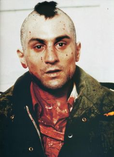 Robert De Niro in 'Taxi Driver', 1976.  LOVE this movie!!!