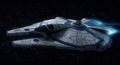 Star Wars Custom Corellian Freighter (DLC) by AdamKop.deviantart.com on @DeviantArt
