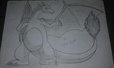 Drawing Hastra - Charizard - Pokemon