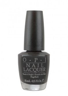 Pin for Later: There's No Trick in These Luxe Halloween Treats OPI Nail Lacquer Lady In Black OPI Nail Lacquer Lady In Black (£13)