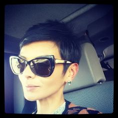 everything in me is saying to cut my hair like this, it is also saying don't.