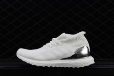7a2ceb799137c Cheap Ronnie Fieg Kith x adidas Ultra Boost Mid White Silver -  Mysecretshoes Yeezy Boost