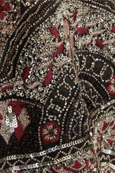 Alice Olivia - Sherley Embellished Silk-chiffon Mini Dress - Black - US10
