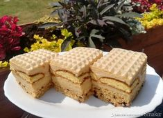 Biszkoptowe mocno krówkowe Krispie Treats, Rice Krispies, Tiramisu, Ale, Waffles, Cheesecake, Breakfast, Polish Food, Ethnic Recipes