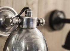 Wandlamp mila antiek zilver   | Woonland