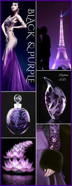 '' Black & Purple '' by Reyhan S.D.