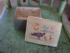 Blackbird Designs.  Orig. Noel box  changed to Be Mine.