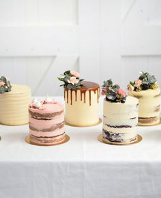 Sweet LionHeart is a Cape Town based online patisserie studio that offers designer occasion cakes, including birthday, wedding and baby shower cakes. Pretty Cakes, Cute Cakes, Beautiful Cakes, Amazing Cakes, Mini Wedding Cakes, Mini Cakes, Cupcake Cakes, Bolo Tumblr, Mini Patisserie