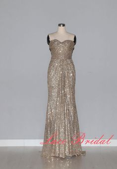Special Style Evening Dress Bead Piece Prom Dress by LaceBridal