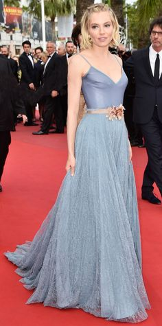 """Look of the Day - May 26, 2015 - Closing Ceremony And """"La Glace Et Le Ciel"""" Premiere - The 68th Annual Cannes Film Festival from #InStyle"""