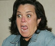 Rosie O'Donnell-has had so many shows canceled that even Donald Trump feels sorry for her bloated carcass.