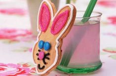 Lemon shortbread eggs and rabbits - kids will love helping you make these shortbread, decorated with Smarties and sugar balls.