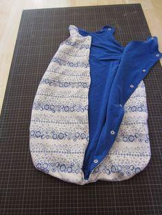 VaNaMas Kinder - und Familien - Blog: leichten Babyschlafsack selber nähen - eine Anleitung