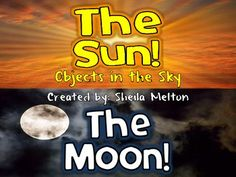 """This is a short PowerPoint about the sun and the moon I used with my 1st grade students to grab their attention and get them thinking about """"Objects in Sky."""" Includes real life pictures of the sun and moon on Earth and from space."""