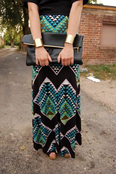 like the pattern the bag and the cuffs...so i guess that makes this my style ;)