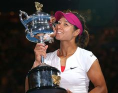 Li Na (tennis) 2014  Won her second Grand Slam title at the Australian Open earlier this year and reached world No. 2, the highest ranking that an Asian player, male or female, has ever achieved; retired from tennis at the age of 32, citing injuries as reasons to force her out of tennis.