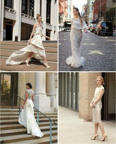 13 city-chic #wedding gowns