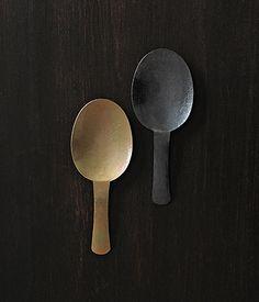 brass / nickel spoons