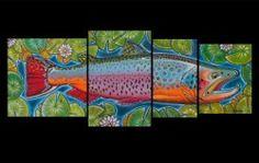 """""""4 in 1 Full – Lilypads"""" - Derek Deyoung  #flyfishing"""