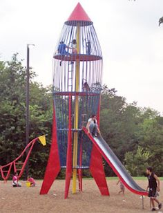 The Rocket--dangerous playground equipment that was a lot of fun!