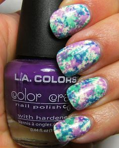 Not only do I love these nails but these are like the color scheme idea I have for Miss Nallah
