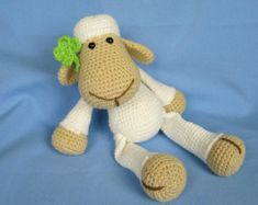 Every child (and not only a child) needs a friend to talk to, to share secrets and play with. Make such a friend with your hands full of love. Crochet a playful elephant Bert to be a best friend for your little one.  Detailed instructions and pictures help you to crochet all parts of the elephant and put them together to complete your Bert. Difficulty: suitable for beginners (however crochet basics needed)  All my patterns are available for download in English / German / Czech langu...