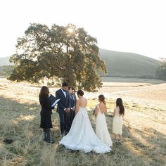 Beautiful morning vows #wedding #morning #charcoal #suit #california #rustic : @shanistudios