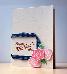 Cristina Kowalczyk for Wplus9 featuring Mother's Day Bouquet stamp set and Label Layers dies (2 & 4).