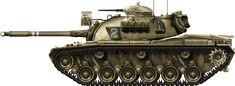 IDF M48A2C Ugdo Tal 7th brigade, 79th TB, Sinai 1967