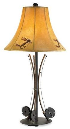 5177221501: Fishing Pole Table Lamp